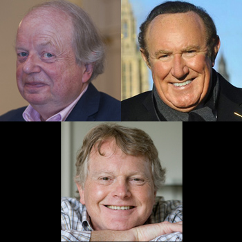 Clockwise from top left: John Sergeant, Andrew Neil and Michael Dobbs